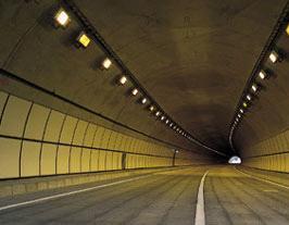 トンネル内照明